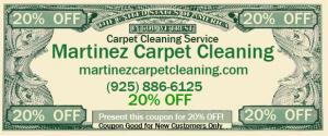 Martinez ca carpet cleaning 20% off